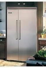 "Viking Viking 48"" 29.1 Built-In SxS Refrigerator Stainless"