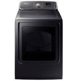 Samsung Samsung 7.4 Steam Electric Dryer Black Stainless