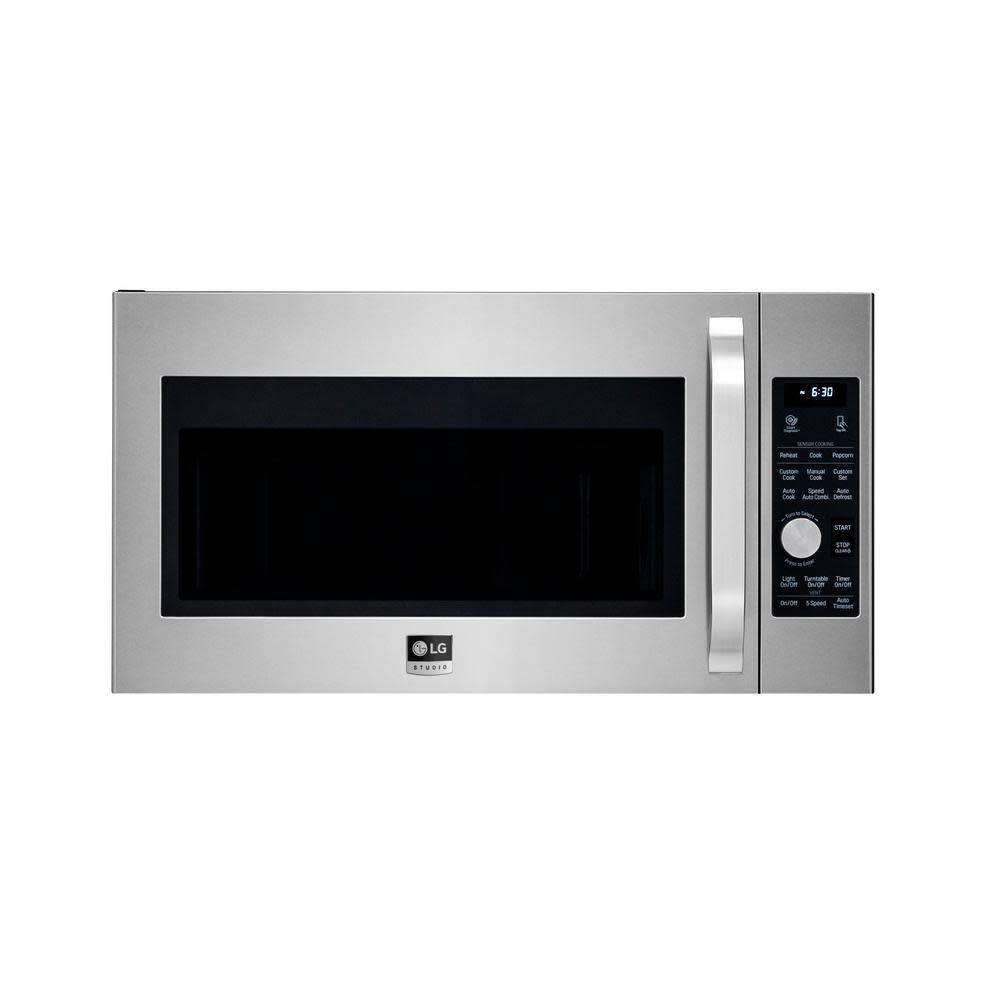 LG LG Studio 1.7 Convection OTR Microwave Stainless