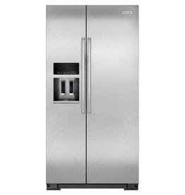 KitchenAid Kitchenaid 22.7 SxS Refrigerator Stainless