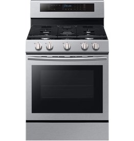 Samsung Samsung Freestanding Convection Gas Range Stainless