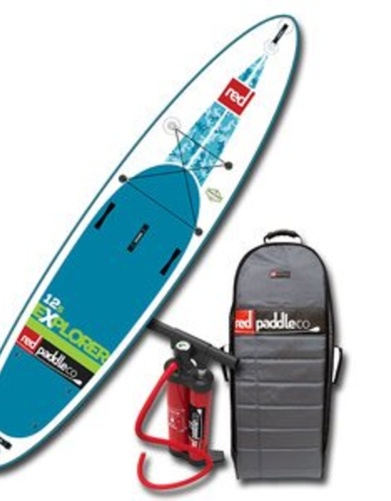"""Red Paddle Co. 2017 Red Paddle Co 12'6"""" EXPLORER Inflatable SUP"""