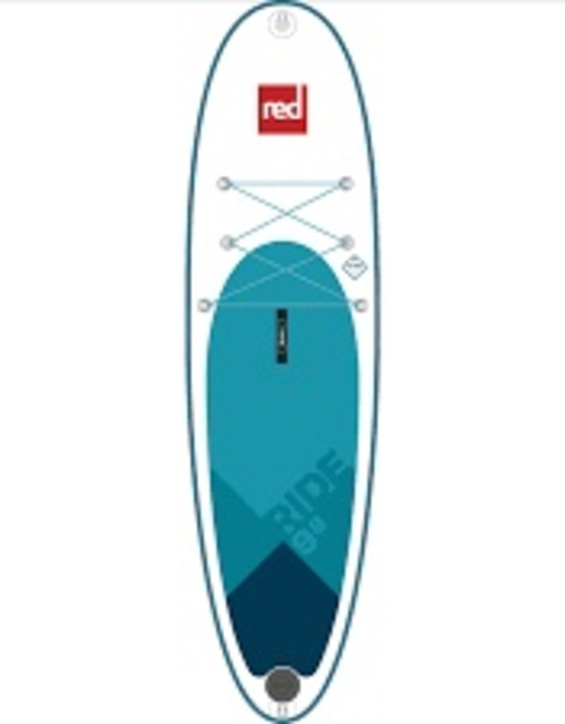 """Red Paddle Co. 2018 Red Paddle Co 9'8"""" RIDE MSL Inflatable SUP"""
