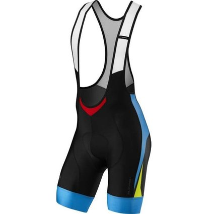 Specialized SL Expert Bib Shorts - Black/Neon Blue XL