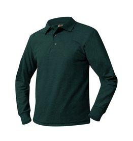 UNIFORM Pique Polo Long Sleeve Shirt