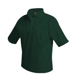 UNIFORM Pique Polo Short Sleeve Shirt, Green
