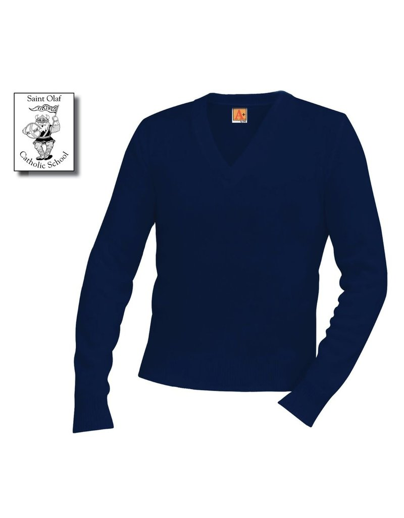 Saint Olaf Pullover Sweater Navy