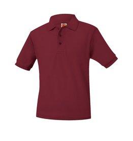 UNIFORM Pique Polo Short Sleeve Shirt