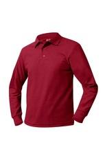 Pique Polo Long Sleeve Shirt