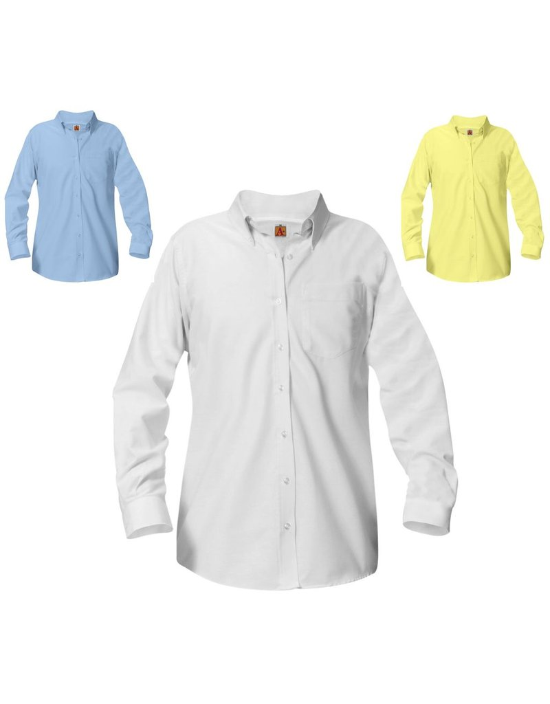 Girls Oxford Long Sleeve Shirt