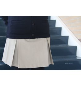 UNIFORM Girls khaki skort