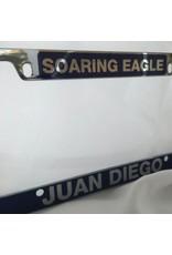 JD Metal License Plate Frame