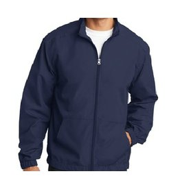 JD Lightweight Windbreaker Jacket with JD logo