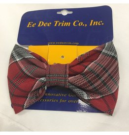 UNIFORM SF Bow Tie Barrette, Plaid