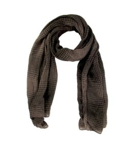 Brown scarf from China.