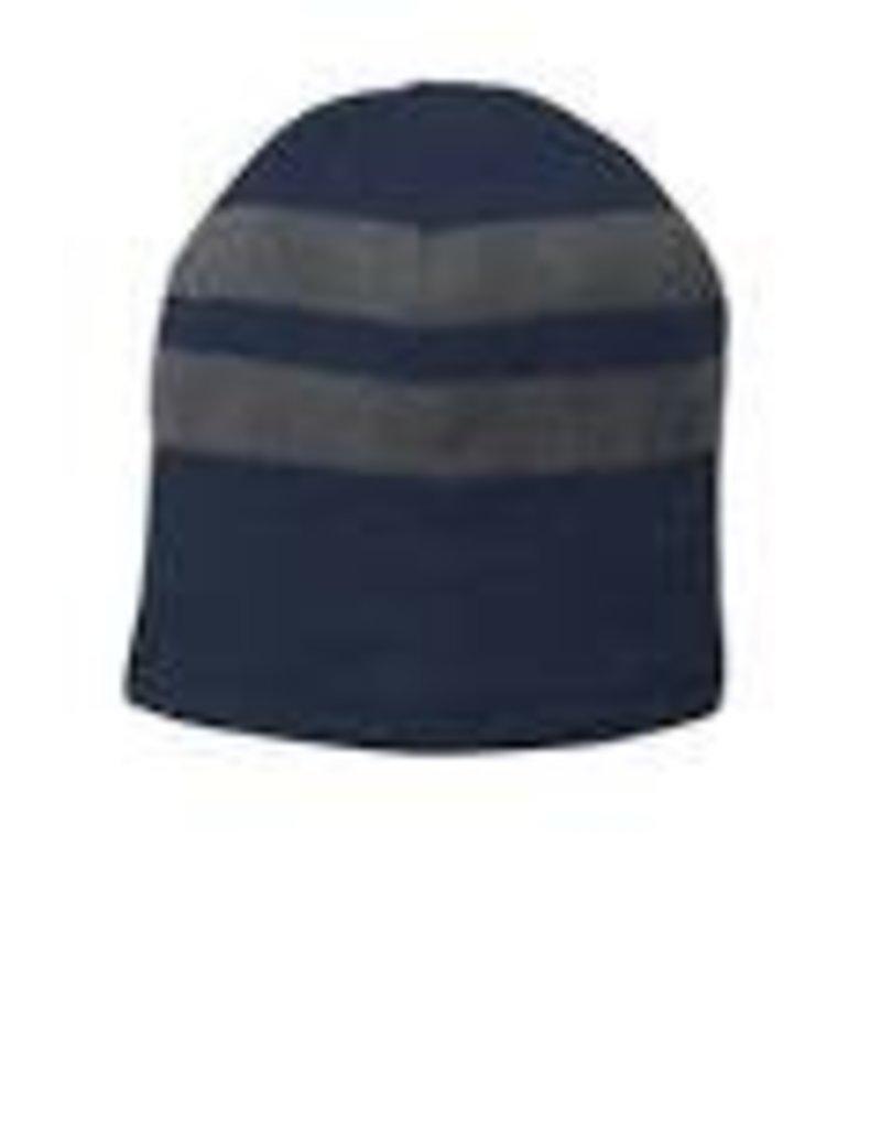 JDS-HAT    beanie knit  nvygrystrp