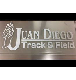 JD Track & Field Decal
