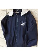 JD Water Repel Coat Detachable Hood, Navy