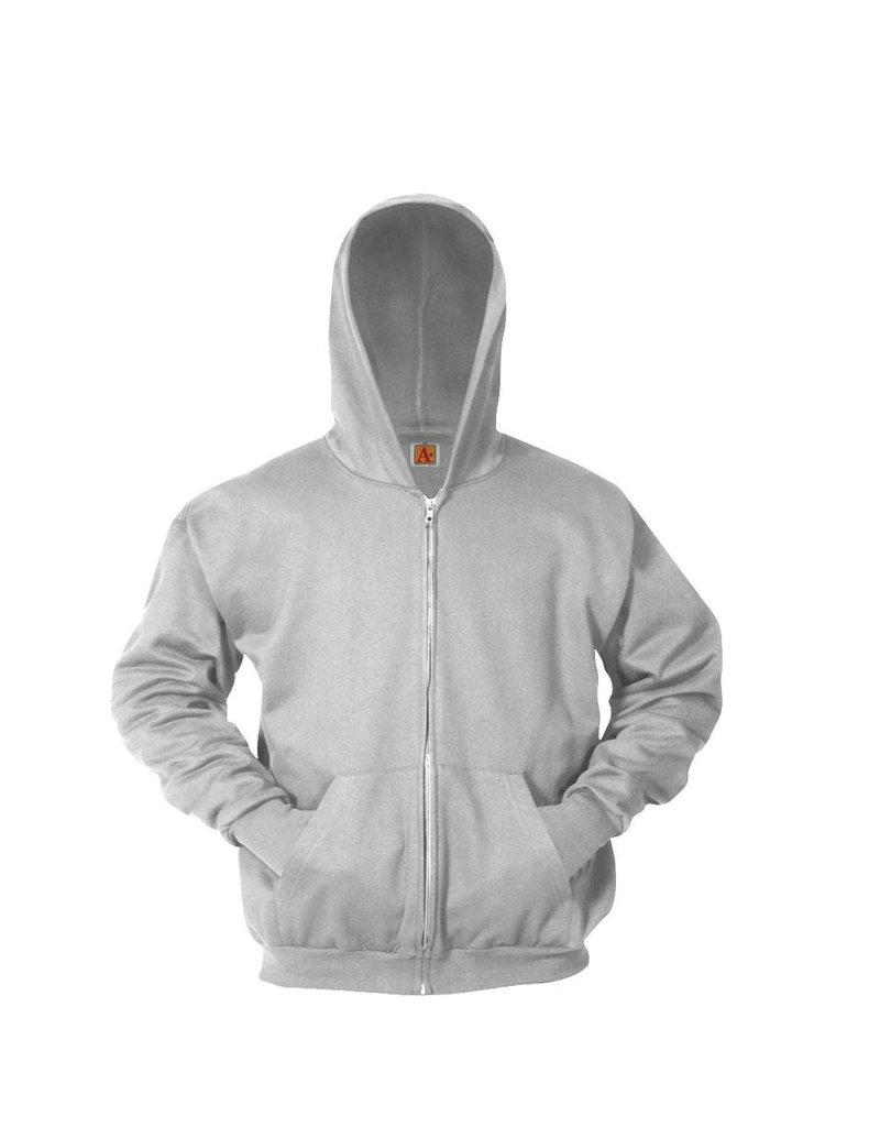 Full Zip Hooded Sweatshirt Cotton/Poly