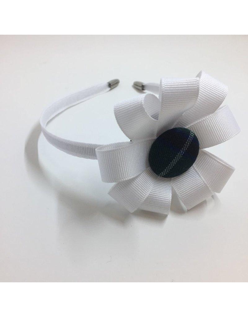 SJB Thin Hard Headband, Plaid