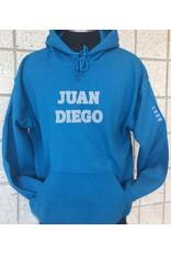 JDCHS hooded pullover sweatshirt Juan Diego