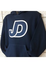 JD Hooded Pullover Sweatshirt