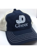 JD Cheer Soft mesh, enzyme-washed twill  cap