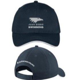 JD Navy Swim Cap