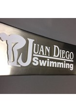 JD Swimming Decal