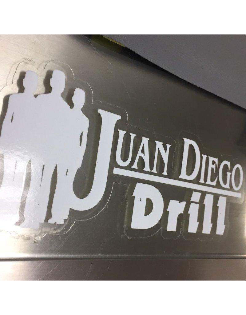 JD Drill Decal
