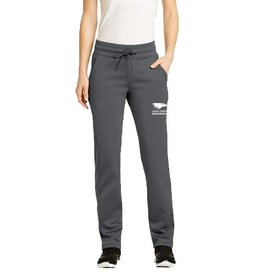 JD Embroidered Women's Grey warm up pants