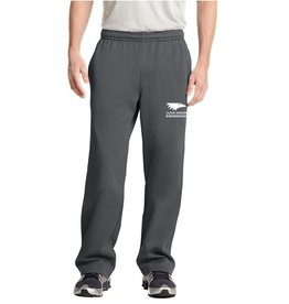 JD Embroidered Men's Grey warm up pants