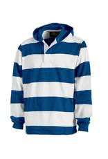 JD Hooded Rugby Pullover