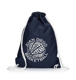 Navy Cinch Bag