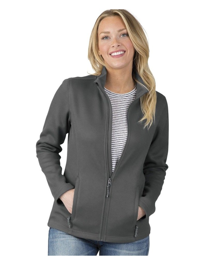 Ladies Rib Knit Jacket