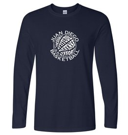 Men's Basketball  Softstyle Long Sleeve T-Shirt