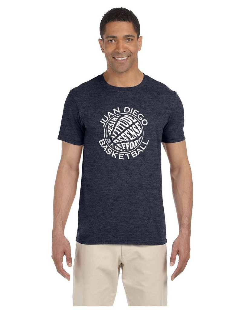 Men's Gildan Short Sleeve Basketball Tee