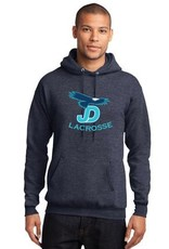 JD LAX Player Navy Heathered Sweatshirt