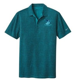 Nike Polo with JD Lacrosse logo embroidered left chest