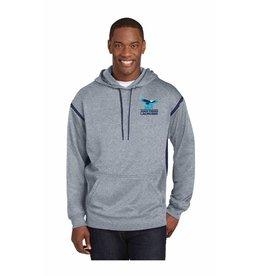 Girls Lacrosse Parent Fleece Colorblock Hooded Sweatshirt