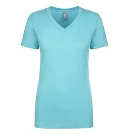Silverline Ladies Turquoise V-neck Tee