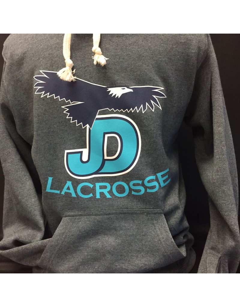JD Lacrosse Hooded Pullover Sweatshirt