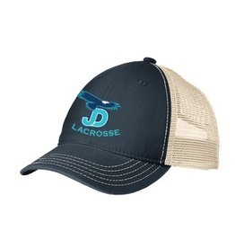 Lacrosse Embroidered two-tone baseball hat