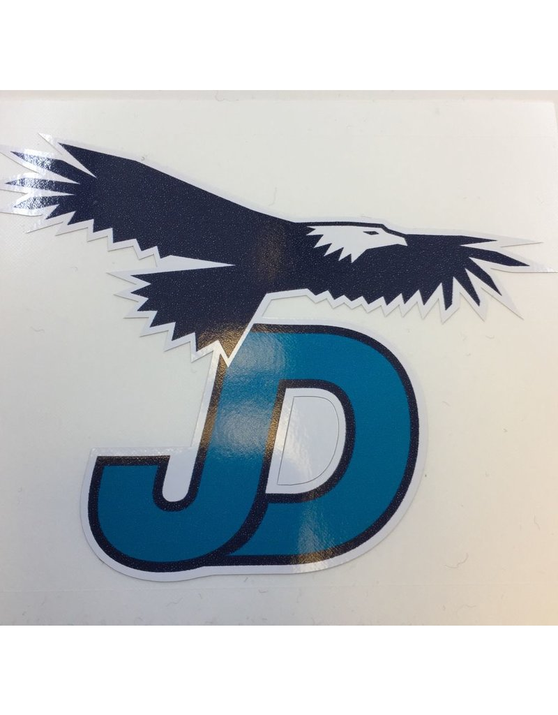 JD Eagle Sticker