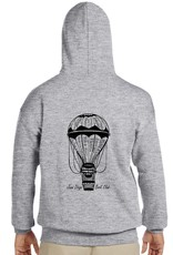 JD BOOKCLUB Grey Sweatshirt UNISEX