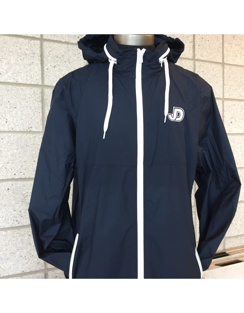 Men's JD Lacrosse Rain Jacket with embroidered logo