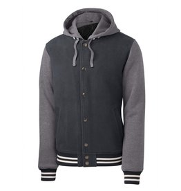 JD Theatre Insulated Letterman Jacket with Hood