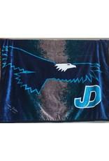 Custom Embroidered JD Plush Blanket - Grad Gift