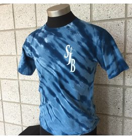 SJBM Navy Tie-Dye Tshirt, Unisex