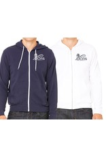 JD Volleyball Unisex Full Zip Hoodie
